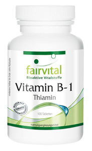 Vitamin B1 Thiamin 100mg 100 Tabletten