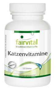 Katzenvitamine 120 Tabletten