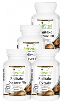 Shiitake supply for 3 months - 90 capsules-image