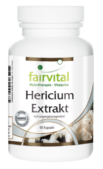 Hericium extract - 90 capsules | vital substances & healthcare products | Fairvital