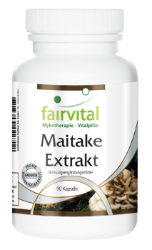 Maitake extract - 90 capsules | vital substances & healthcare products | Fairvital