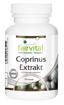 Coprinus extract 500mg - 90 capsules | vital substances & healthcare products | Fairvital