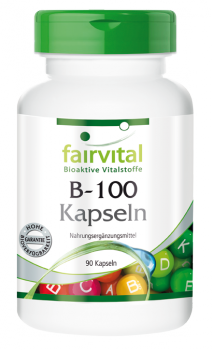 B-100 – 90 capsules | vital substances & healthcare products | Fairvital