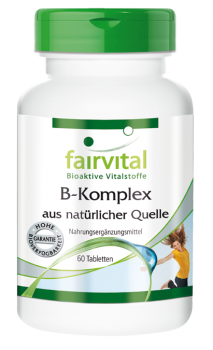 B complex from a natural source – 60 tablets | vital substances & healthcare products | Fairvital