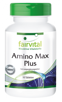 Amino Max Plus – 90 tablets | vital substances & healthcare products | Fairvital