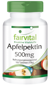 Apple pectin – 100 tablets | vital substances & healthcare products | Fairvital