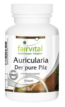 Auricularia - the pure mushroom - 90 capsules | vital substances & healthcare products | Fairvital