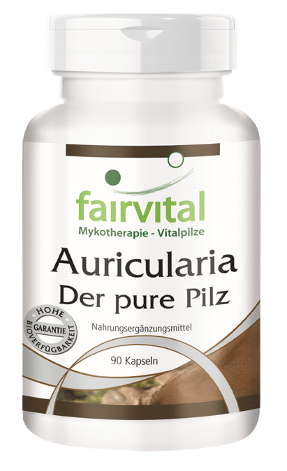 Auricularia 500mg - 90 capsules-image
