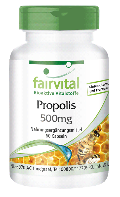 Propolis extract 500mg – 60 capsules-image