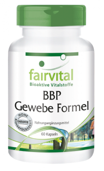 BBP tissue formula – 60 capsules | vital substances & healthcare products | Fairvital