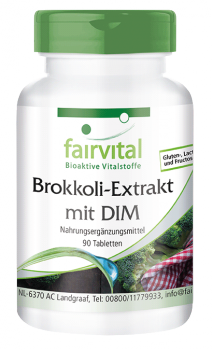 Broccoli extract with DIM - 90 tablets | vital substances & healthcare products | Fairvital