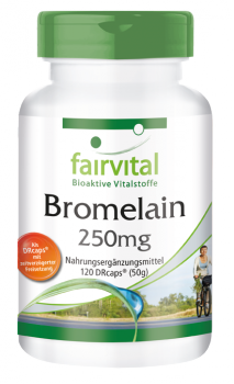 Bromelain 250mg - 120 DRCaps®, gastroresistant-image