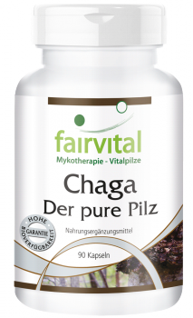 Chaga - the pure mushroom 500mg - 90 capsules-image