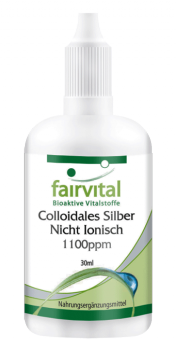 Colloidal silver 1100ppm – 30ml non-ionic-image