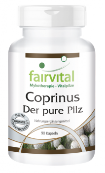 Coprinus 500mg - 90 capsules | vital substances & healthcare products | Fairvital