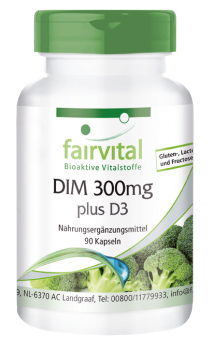 DIM 300mg plus D3 - 90 Capsules | vital substances & healthcare products | Fairvital