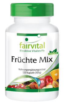Fruit Mix - 120 capsules | vital substances & healthcare products | Fairvital