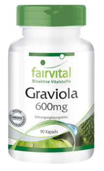Graviola 600mg – 90 capsules | vital substances & healthcare products | Fairvital