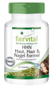 HSN Hair, skin and nails formula - 60 tablets-image