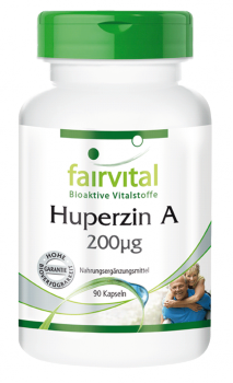 Huperzine A 200µg - 90 capsules | vital substances & healthcare products | Fairvital