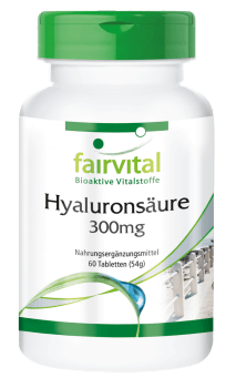 Hyaluronic acid 300mg - 60 tablets-image