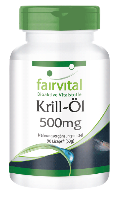 Krill oil 500mg - 90 LiCaps® | vital substances & healthcare products | Fairvital