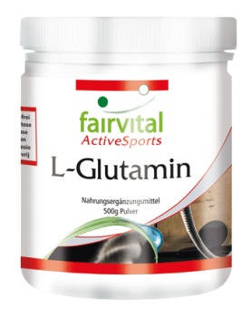 L-glutamine - 500g powder | vital substances & healthcare products | Fairvital
