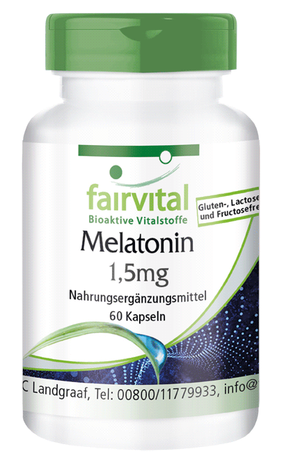Melatonin 1.5mg - 60 Capsules-image
