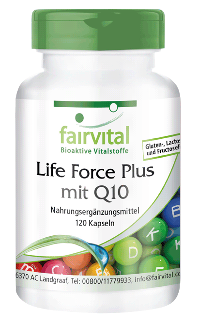 Life Force Plus with Q10 - 120 capsules-image