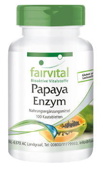 Papaya Enzyme - 100 chewable tablets-image