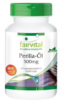 Perilla oil 500mg – 90 LiCaps® | vital substances & healthcare products | Fairvital