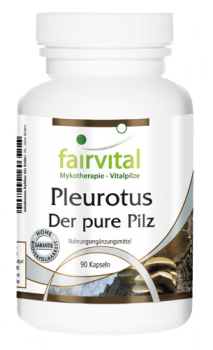 Pleurotus - the pure mushroom - 90 capsules | vital substances & healthcare products | Fairvital