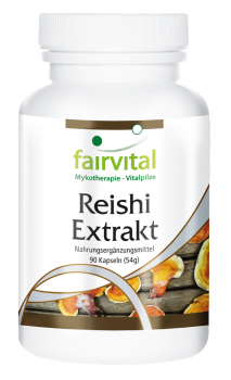 Reishi extract - 90 capsules | vital substances & healthcare products | Fairvital