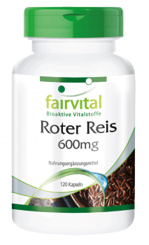 Red yeast rice extract 600mg – 120 capsules | vital substances & healthcare products | Fairvital