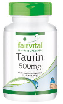 Taurin 500mg - 60 Tabletten-image