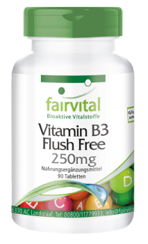 Vitamin B3 Flush Free 250mg - 90 Compresse-image