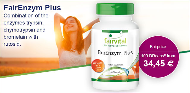 FairEnzym Plus - 100 DRcaps® | vital substances & healthcare products | Fairvital