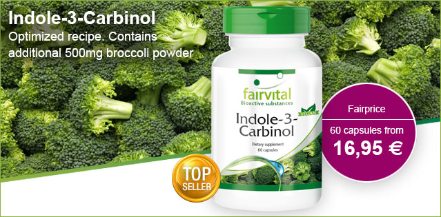 Indole-3-carbinol – 60 capsules | vital substances & healthcare products | Fairvital