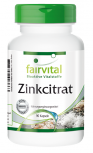Zinc citrate containing 50mg zinc - 90 capsules