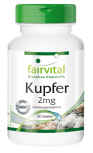 Kupfer 2mg - 100 Tabletten