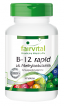 B-12 rapid als Methylcobalamin - 90 Tabletten sublingual