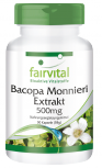 Bacopa monnieri extract 500mg – 90 capsules