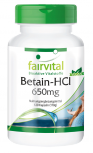 Betaine HCl 650mg – 120 capsules