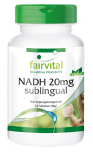 NADH 20mg sublinguale - 60 compresse