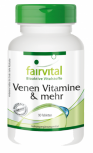 Vein Vitamins - 90 tablets