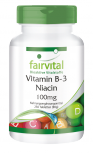 Vitamin B-3 Niacin 100mg - 250 Tabletten