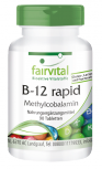 B-12 rapid as methylcobalamin – 90 sublingual tablets